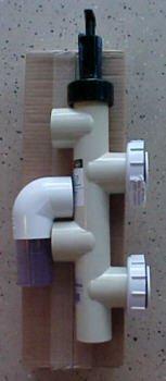 Pentair 263064 Pvc Push Pull Slide Valve 7 12 Inch Centerline Almond For De And Sand Filters