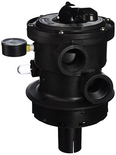 Hayward Sp0714t Proseries Variflo Top-mount Multiport Valve Black 15&quot Fip
