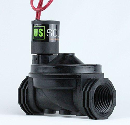 1 Female NPT 2 Position 2 Way IrrigationSprinkler Solenoid Valve AC 24V from US Solid