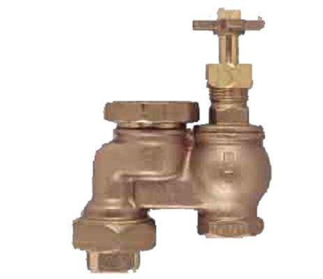 Orbit WaterMaster Underground 51052 34-Inch Brass Anti-Siphon Valve with Union