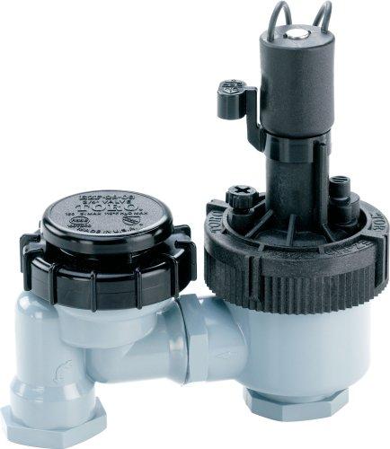 Toro 53763 34-Inch Anti-Siphon Jar Top Underground Sprinkler System Valve with Flow Control