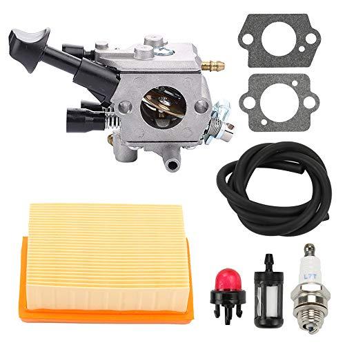 HONEYRAIN Carburetor for STIHL BR350 BR350Z BR430 BR430Z SR430 SR450 SR431 ZAMA C1Q-S210 C1Q-S210B Backpack Blower Replace 4229 129 0901 4244 120 0603 4244-120-0606