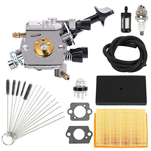Highmoor C1Q-S210 C1Q-S210B Carburetor for STIHL BR350 BR350Z BR430 BR430Z SR430 SR450 SR431 Backpack Leaf Blower Carb Replace 4229 129 0901 with Air Filter Tune Up Kit