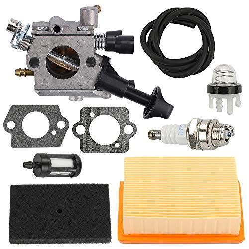 Yermax Zama C1Q-S210 Carburetor  Air Filter Repower Kit for Stihl BR350 BR430 SR430 SR450 Backpack Blower