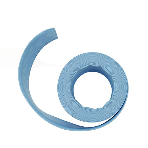 Light Blue Swimming Pool Filter Backwash Hose - 100 x 15