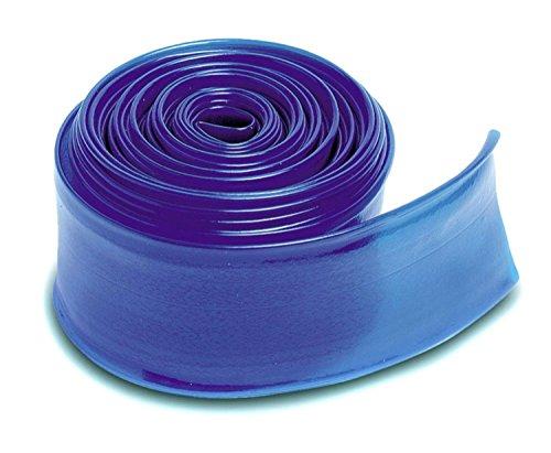 Transparent Blue Swimming Pool Filter Backwash Hose - 100 x 15
