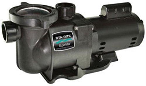 Pentair Sta-rite N1-34a Hp Supermax Standard Efficient Single Speed High Performance Inground Pool Pump 34