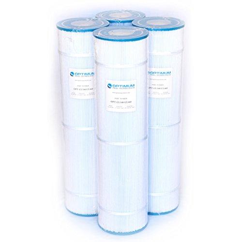 Pool Filter 4-Pack Replaces Jandy CL460 R0554600 Unicel C-7468 Filbur FC-0810 Pleatco PJAN115 Filter Cartridges