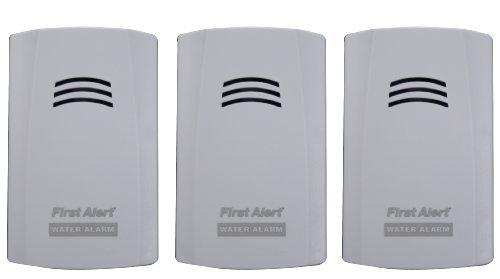 First Alert WA100-3 Water Alarm 3-Pack Model WA100-3