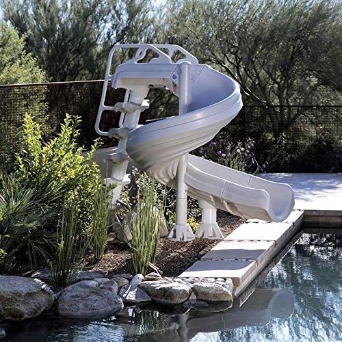 Interfab G-Force 2 Desert Tan In Ground Swimming Pool Slide - G4C-T