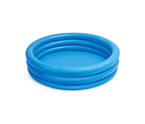 Intex FBA_58446EP Crystal Blue Kids Outdoor Inflatable 66 x 15Swimming Pool Beige 8