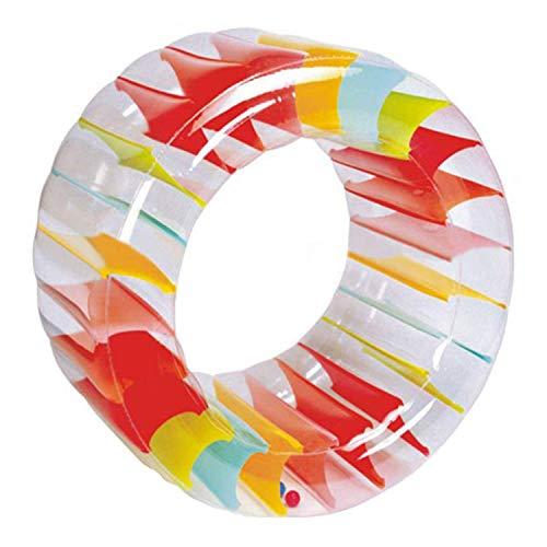 Wonderful Industry ltd Colorful Inflatable Water Wheel Roller Float Kids Pool Float Swimming Pool Toys
