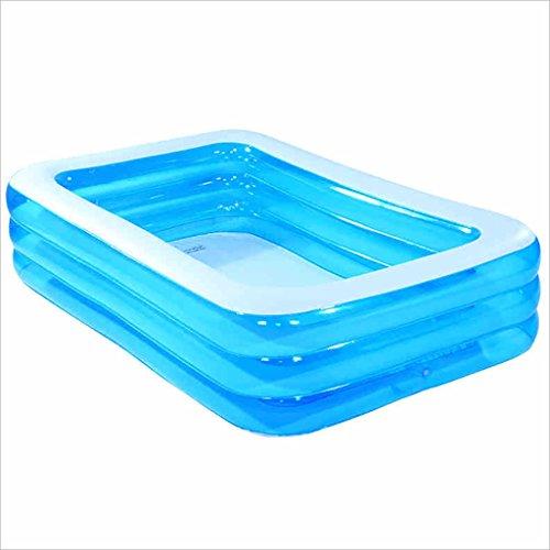 LQQGXLBath Large Family Luxury Inflatable Pool Pond Sea Ball Pool Childrens Pool Swimming Pool 365 200 55CM Inflatable bathtub