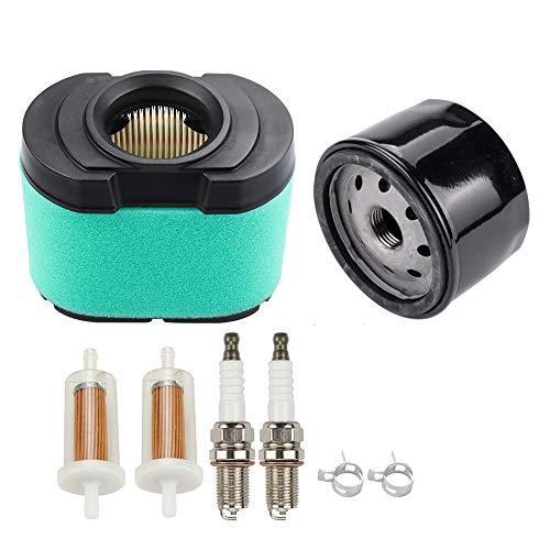 Dalom LG264 Kit MIU11515 Air Filter w Oil Filter for John Deere Lawn Mower Tractor D150 D155 D160 D170 E160 E170 E180 L118 L120 LA140 LA150 LA155 LA165 LA175 X130R Z225 Z245 Z425 Z435 Z525E Z625