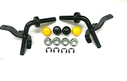 Steering Spindle Kit for John Deere Lawn Mower Tractors LA100 LA105 LA115 LA120 LA135 LA140 LA145 LA150 LA165 LA175 L120 L130 G110 D130 D140 D150 D160 D170 GY20048 GY21049 GY21050 GY22251 GY22252