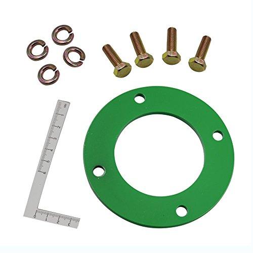 iFJF Mower Deck Spindle Reinforcement Ring for John Deere 42 Mower D100 D110 D130 D140 D160 LA100 LA105 LA110 LA115 LA120 LA125 LA130 LA140 LA145 LA155 LA165 X110 X120 X140 L100 L110 L120 Set of 1
