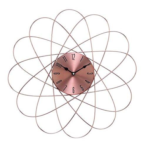 Benzara 85521 20D Metal Copper Wall Clock