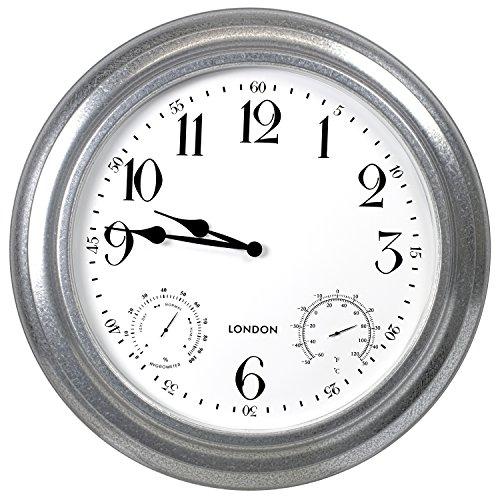 Poolmaster 52611 24 London Wall Clock