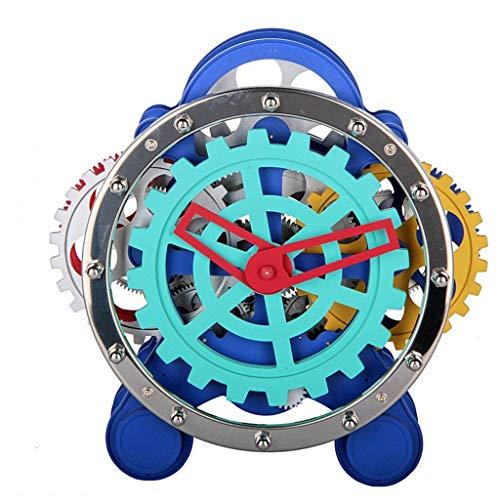 DQMSB Clock Color Gear Table Clock Home Decoration Ornaments 1003 X 393 X 925in