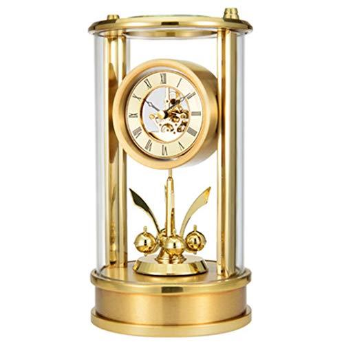 DQMSB Modern Minimalist European Sitting Clock Silent Fashion Clock Living Room Bedroom Creative Table Clock