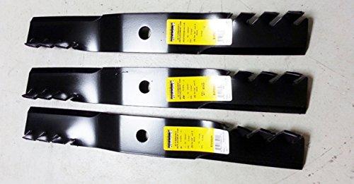 B1pd5011d Set Of 3 Kubota 54&quot Predator Mulching Mower Blades K5619-34350