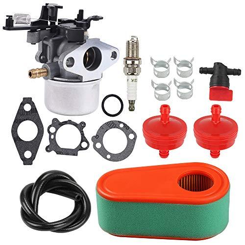 Milttor 590948 796608 Carburetor 795066 796254 Air Pre Filter Fit Briggs and Stratton 591137 Carburetor Lawnmower Snowblower
