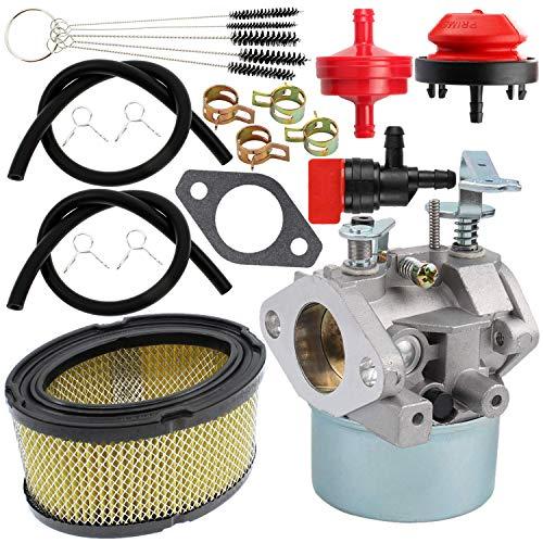 Yingshop Carburetor Air Filter Compatible for Tecumseh 640260 640260A 640260B 640269 632689 HM80-HM100 LH318XA LH358XA LH358EA 8HP-10HP Coleman Craftsman Generator Lawnmower Snowblower 520956 056320