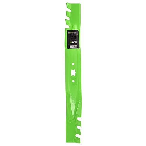 8TEN LawnRAZOR Mulching Blade for MTD Cub Cadet Troy Bilt CC999ES CC99M SC500E 942-0741A 942-0741 742-0741
