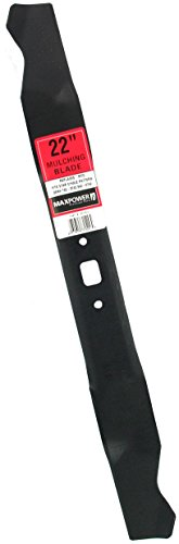 Maxpower 331529 Mulching Blade for 22 Cut for MTDCub CadetTroy-Bilt Replaces 742-0742 742-0742A 942-0742 9420742A