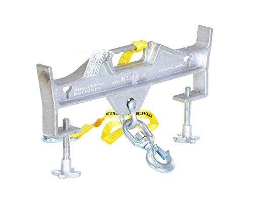 Vestil D-fork-4-s Hoisting Double/swivel Hook, 4,000-lb. Capacity