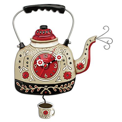 Allen Designs Kettles On Pendulum Clock