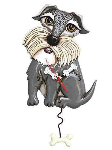 Allen Designs Lucy Dog Pendulum Clock