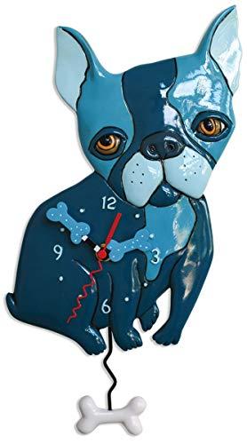 Allen Designs Swinging Pendulum Clock Le Bleu P1928 14 Inches X 75 Inches
