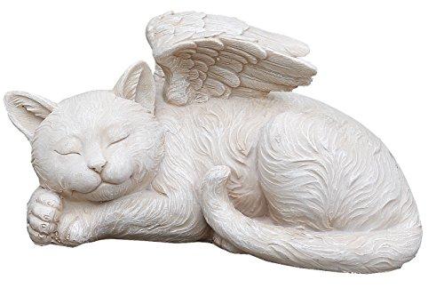 Napco 11145 Sleeping Angel Cat With Wings Garden Statue 975 X 5&quot