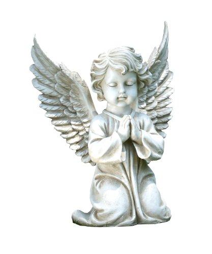 Napco Kneeling Angel Garden Statue 15-inch Tall