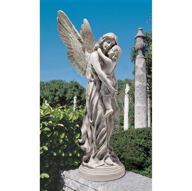 Kerepesi Budapest Replica Wide Wingel Home Garden Angel Sculpture Statue Decor