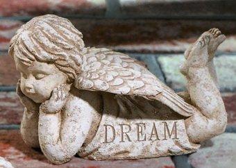 Garden Angel Statue Cherub Dream From Grasslands