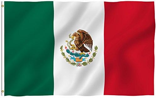 3 x 5 Mexican Flag