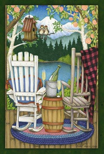Toland Home Garden The Back Porch 28 X 40-inch Decorative Usa-produced House Flag