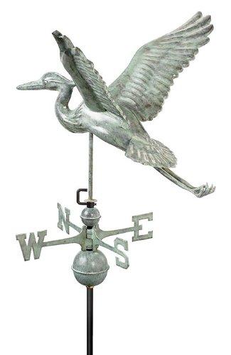 28 Luxury Blue Verde Great Blue Heron Weathervane