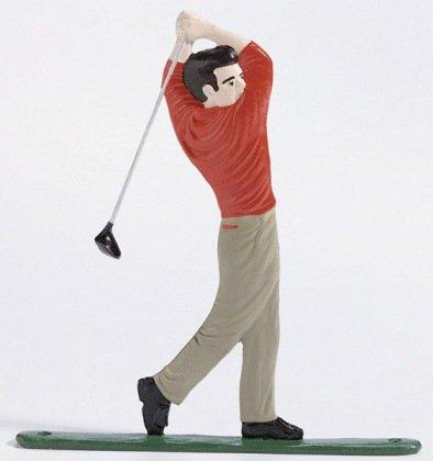 Whitehall Products Golfer Weathervane 30-Inch Garden Black
