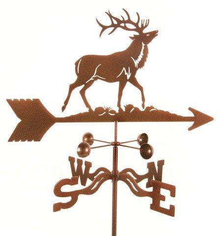 EZ Vane EZ1310-RF Elk Weathervane with Roof Mount