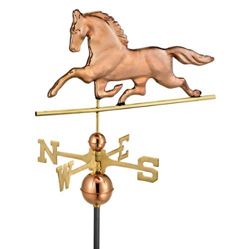 Design Toscano Patchen Horse Full-Size Copper Weathervane Copper
