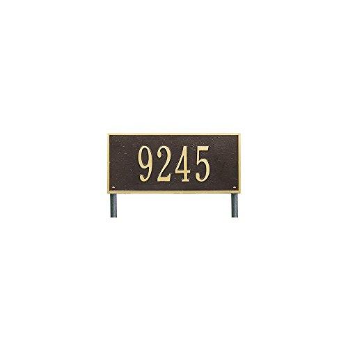 Whitehall Hartford Lawn Plaque-EngravingGiftGardenHomeWeddingAddressCustom