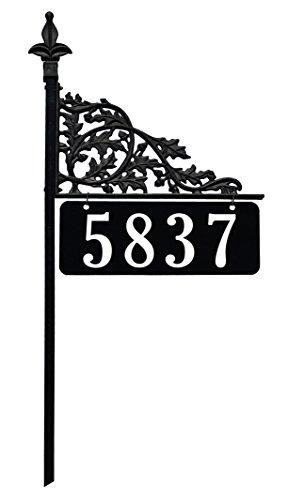 Oak 30 Inch Reflective Address Sign