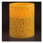 Cinnamon-Scented-Flameless-Led-Candle-Embossed-Swirl-Design5.jpg