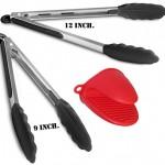 Silicone-Kitchen-Bbq-Tongs-Set-By-Kum-amp-kum-9inch-amp-12inch-In-Black-Bonus-Oven-Mitt-Kitchen-Utensil-Set2.jpg